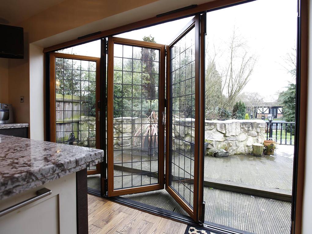 Wood Bi-fold doors
