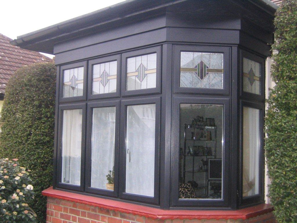 Black Casement Window