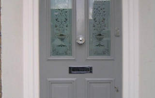 solid timber wood entrance doors