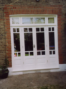 French doors, bi-fold doors