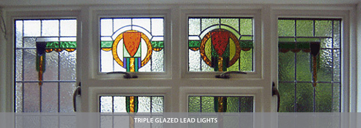 Triple Glazed Lead Lights